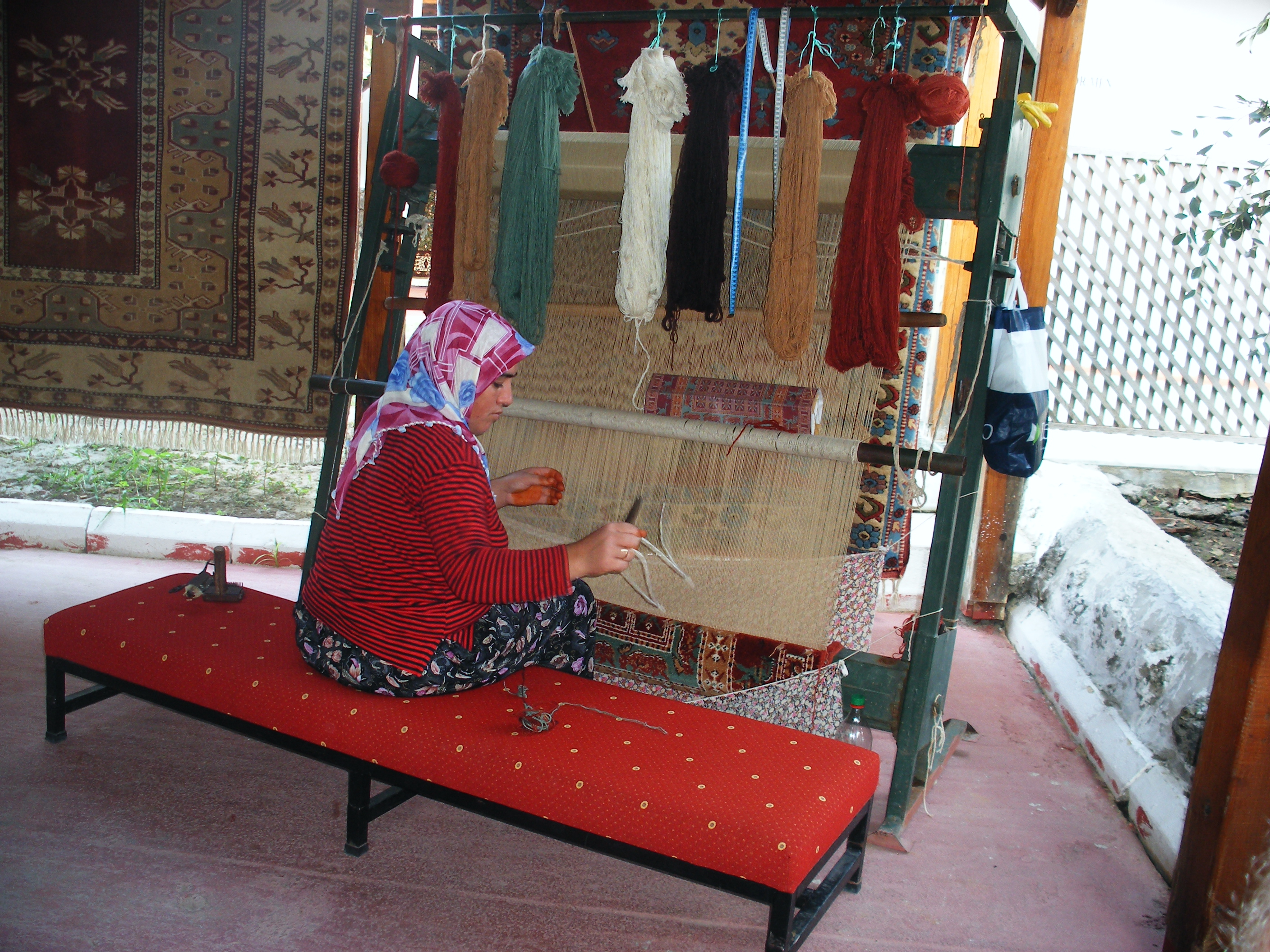 Rug Weaving Pic