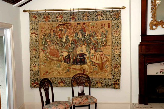 Naples Rug Lovers How To Hang An Oriental Rug Oriental